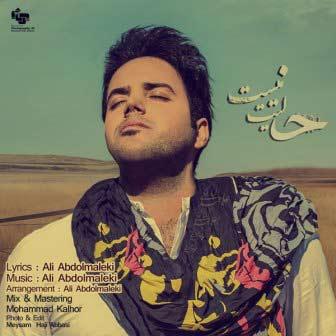 دانلود آهنگ جدید علی عبدالمالکی به نام حالیت نیست همراه با متن