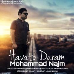 دانلود آهنگ جدید محمد نجم  هواتو دارم با کیفیت بالا