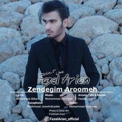 دانلود آهنگ جدید فاضل آرین  زندگیم آرومه با کیفیت بالا