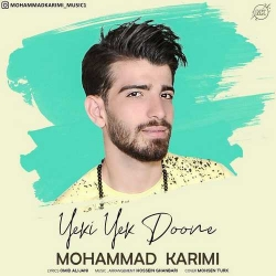 دانلود آهنگ جدید محمد کریمی  یکی یکدونه با کیفیت بالا