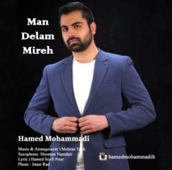 دانلود آهنگ جدید حامد محمدی بنام من دلم میره با متن ترانه
