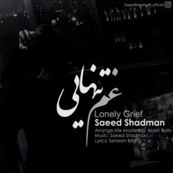 دانلود آهنگ جدید سعید شادمان بنام غم تنهایی با متن ترانه