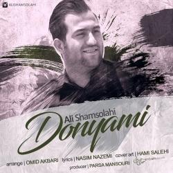دانلود آهنگ جدید علی شمس الهی  دنیامی با کیفیت بالا