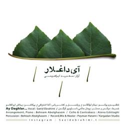 دانلود آهنگ جدید سعید ابراهیمی  آی داغلار با کیفیت بالا